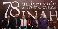 Celebra el INAH 78 años de labor incesante en favor del patrimonio cultural